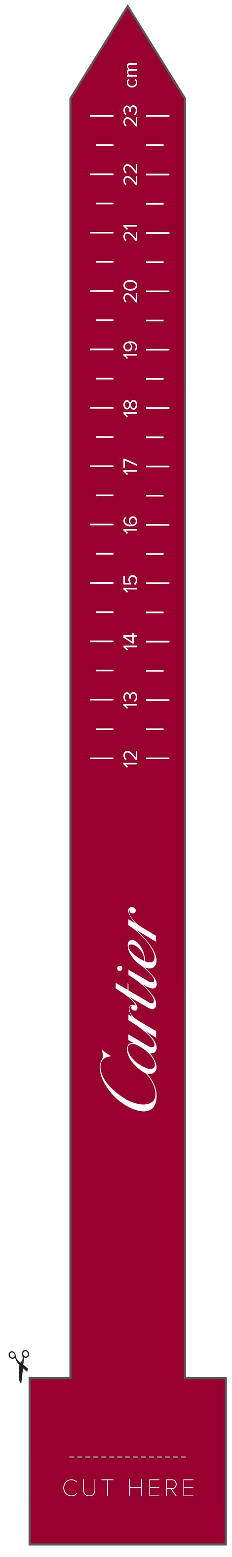 Download and print the ruler to cut