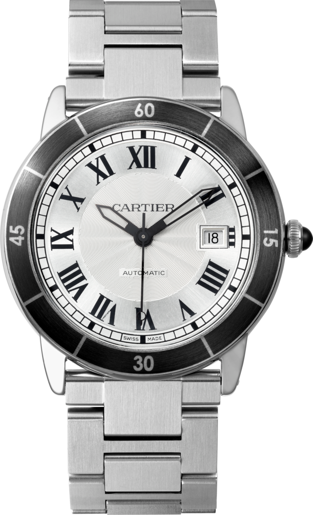 Ronde Croisière de Cartier watch42 mm, steel
