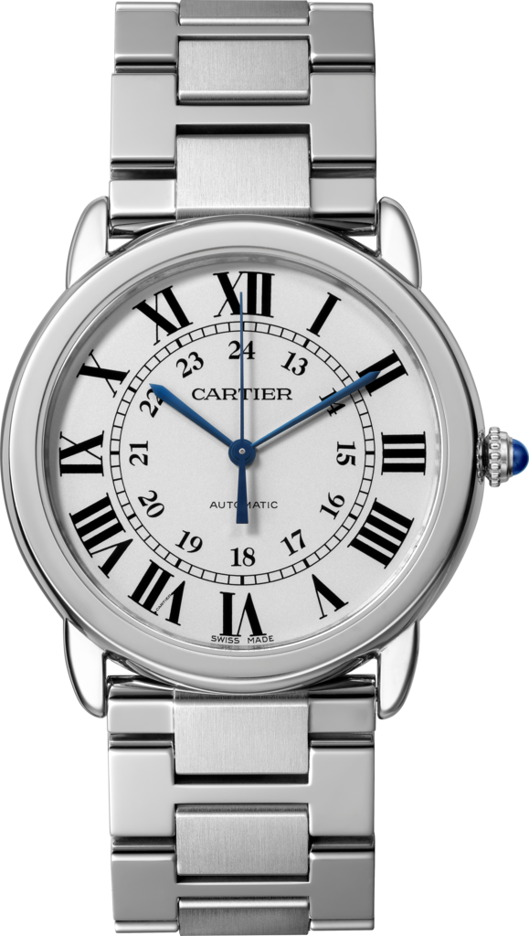 Ronde Solo de Cartier watch36 mm, steel
