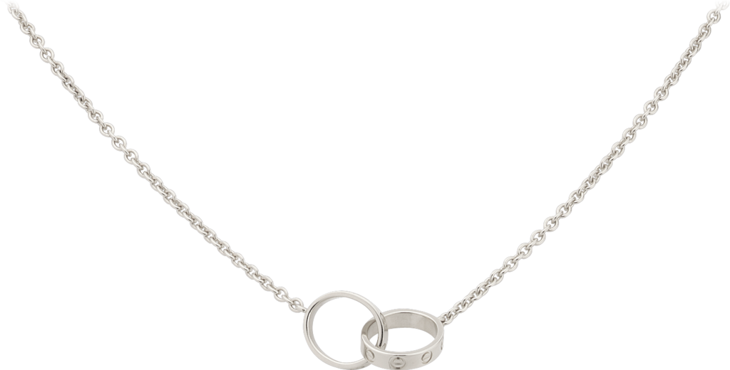 Love necklaceWhite gold