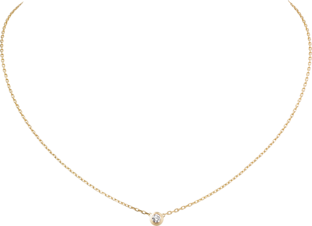 Diamants Légers necklace, LMYellow gold, diamond