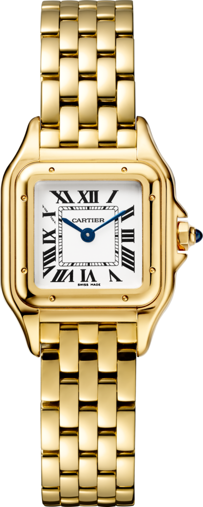 Panthère de Cartier watchSmall model, yellow gold