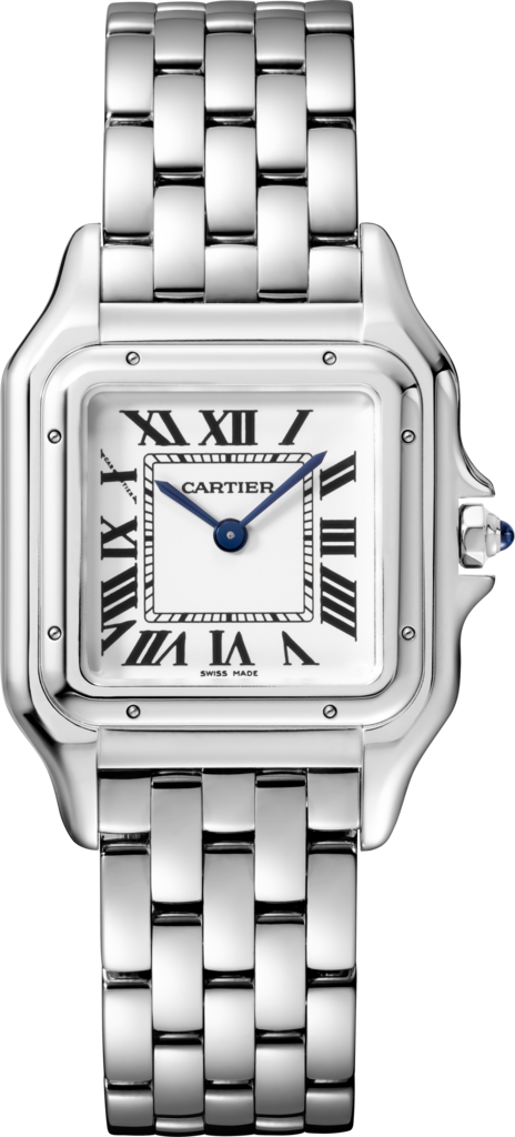 Panthère de Cartier watchMedium model, steel