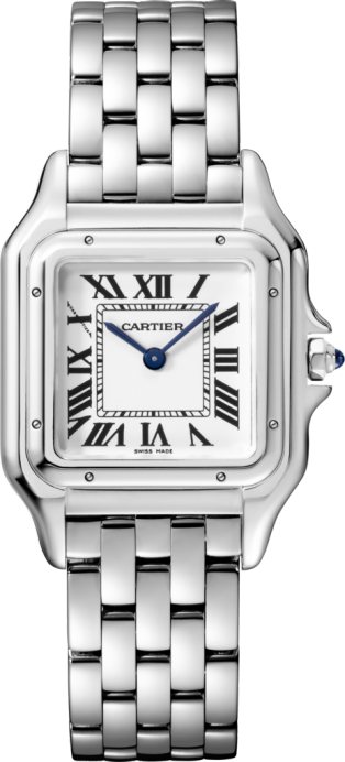 Panthère de Cartier watch Medium model, steel