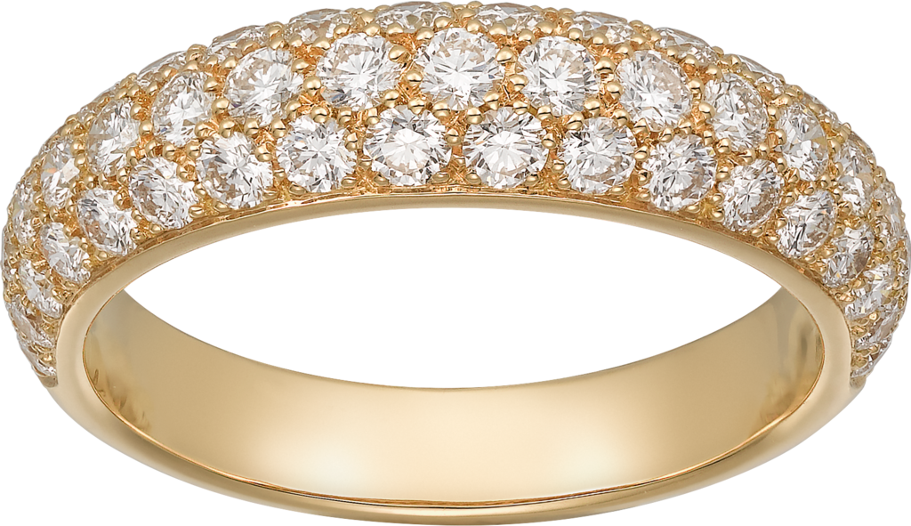 Étincelle de Cartier ring, small modelYellow gold, diamonds