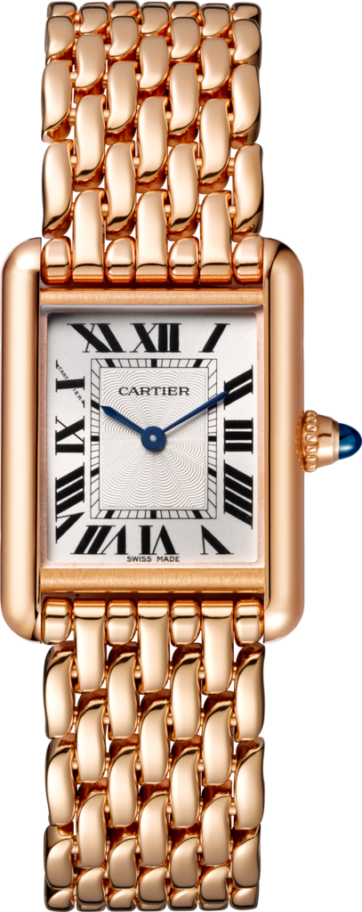 Tank Louis Cartier watchSmall model, pink gold