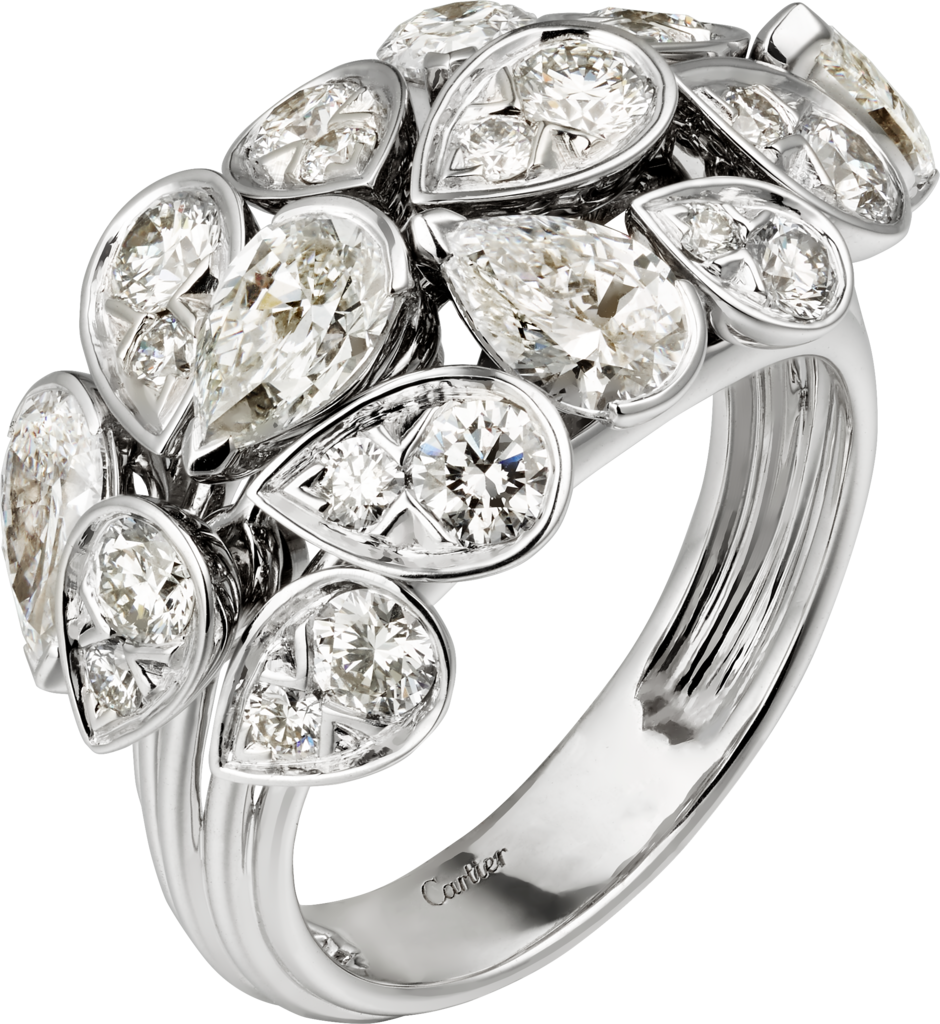 Pluie de Cartier ringWhite gold, diamonds