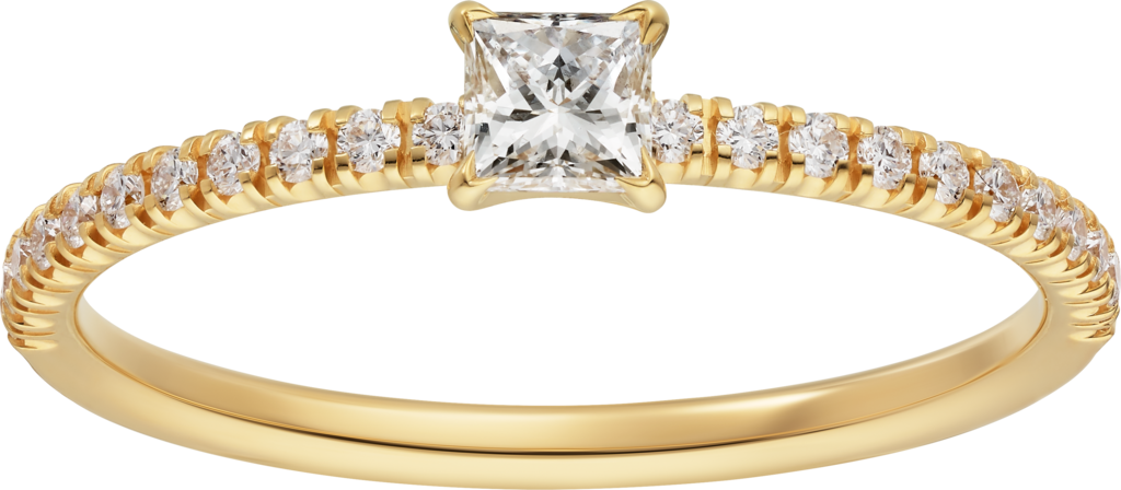 Etincelle de Cartier ringYellow gold, diamonds