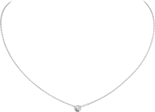 Diamants Légers necklace, SM White gold, diamond