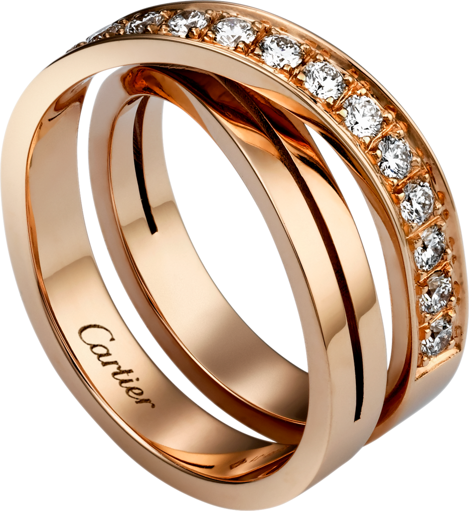 Etincelle de Cartier ringRose gold, diamonds