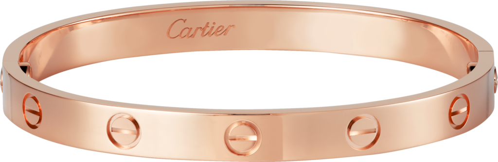 Love braceletPink gold