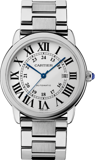 Ronde Solo de Cartier watch 42 mm, steel