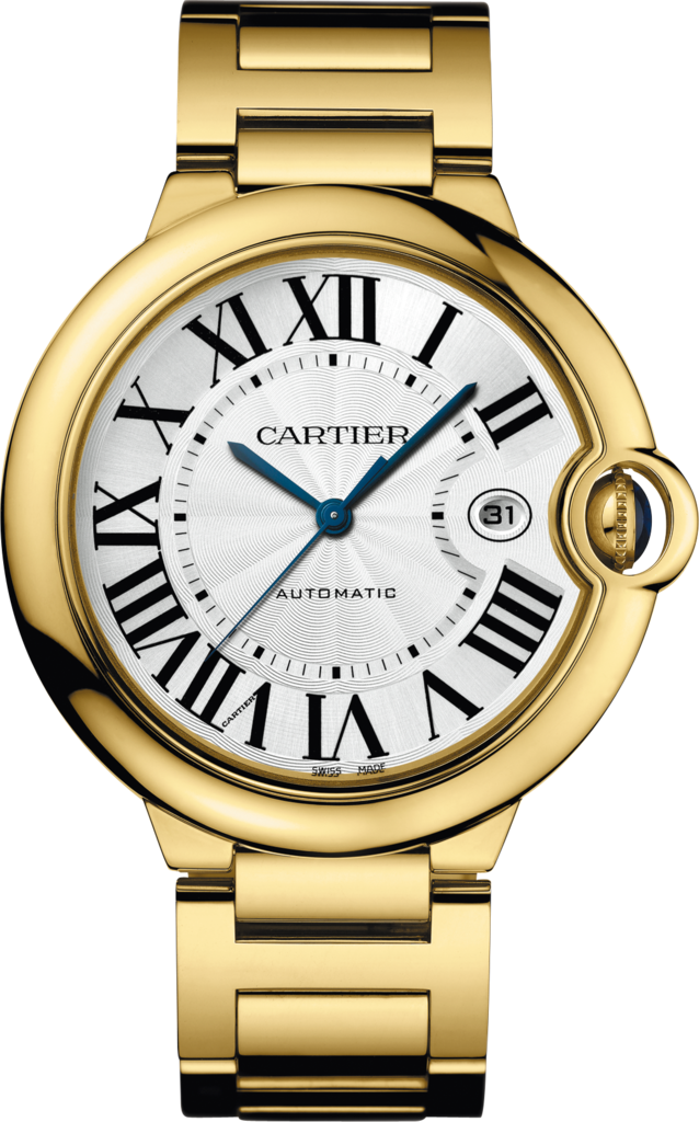 Ballon Bleu de Cartier watch42 mm, 18K yellow gold, sapphire