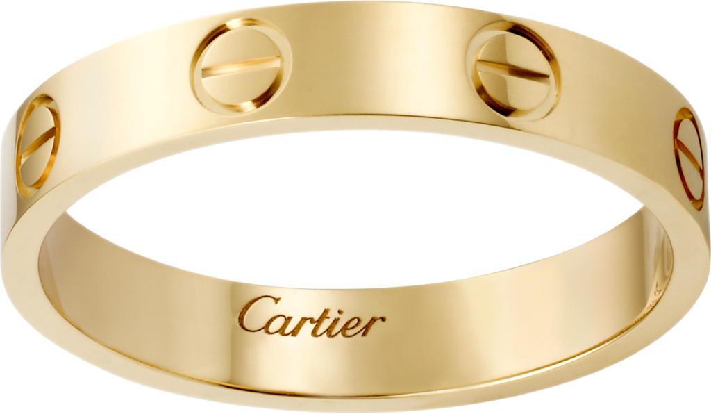 CRB LOVE wedding band Yellow gold Cartier