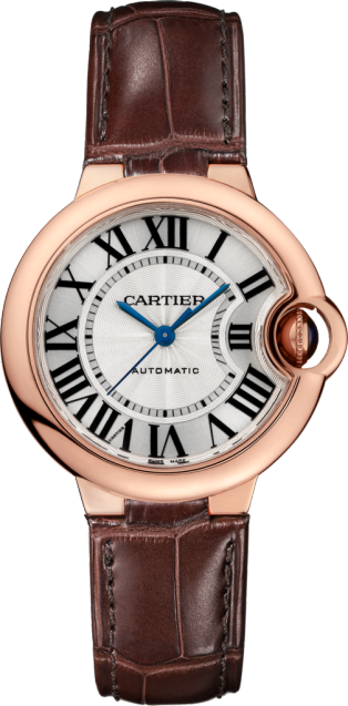 a1a85729507f CRW6920097 - Ballon Bleu de Cartier watch - 33 mm, 18K pink gold ...