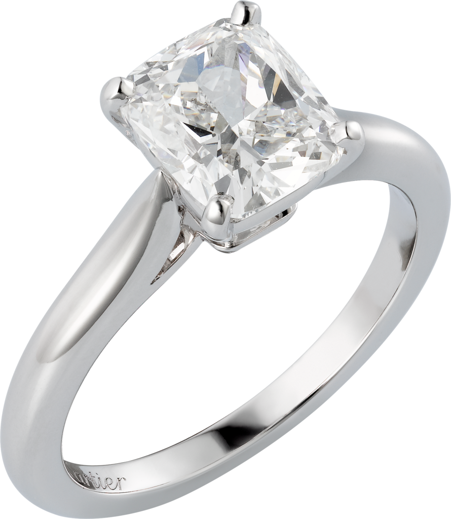 1895 solitaire ringPlatinum, diamond