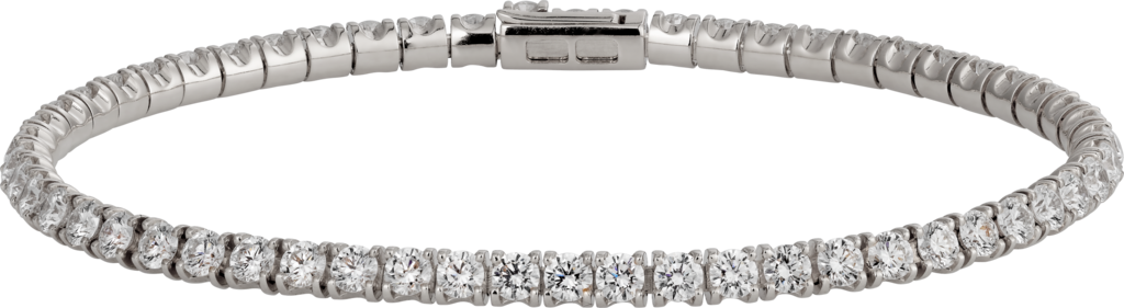 Essential Lines braceletWhite gold, diamonds