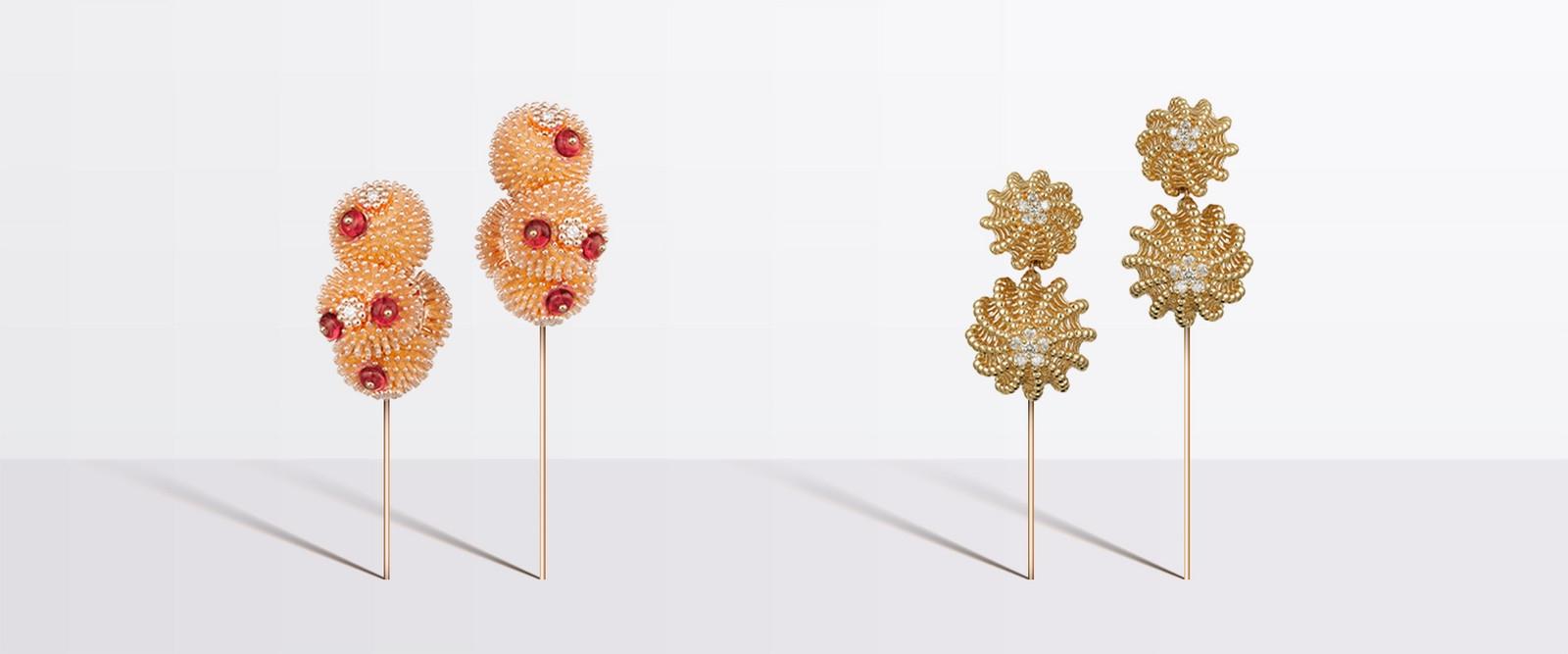 Серьги Cactus de Cartier