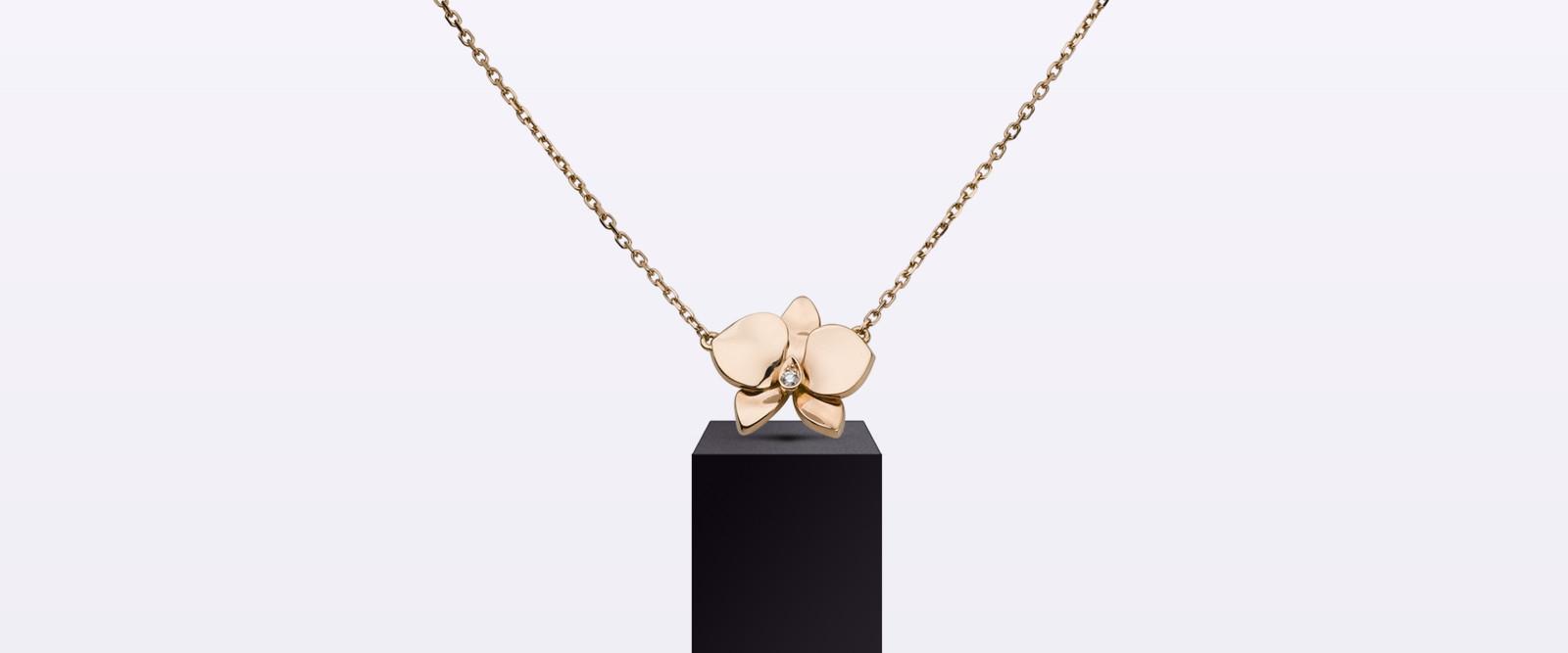 Колье Caresse d'orchidées par Cartier