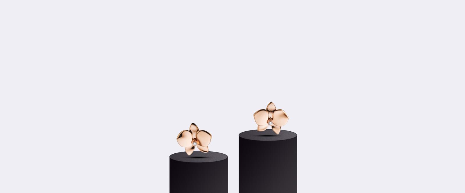 Серьги Caresse d'orchidées par Cartier