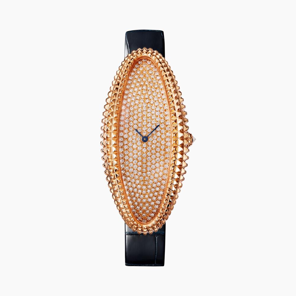 Часы Baignoire Allongée