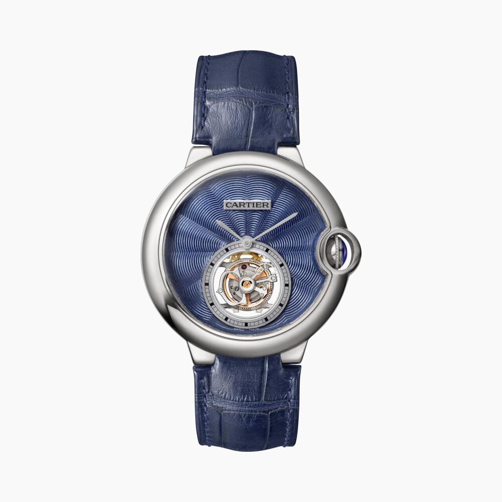 Часы Ballon Bleu de Cartier с парящим турбийоном