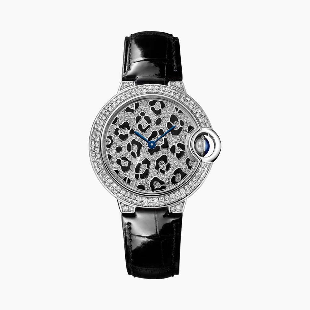 Часы Ballon Bleu de Cartier, мотив «пятна пантеры»