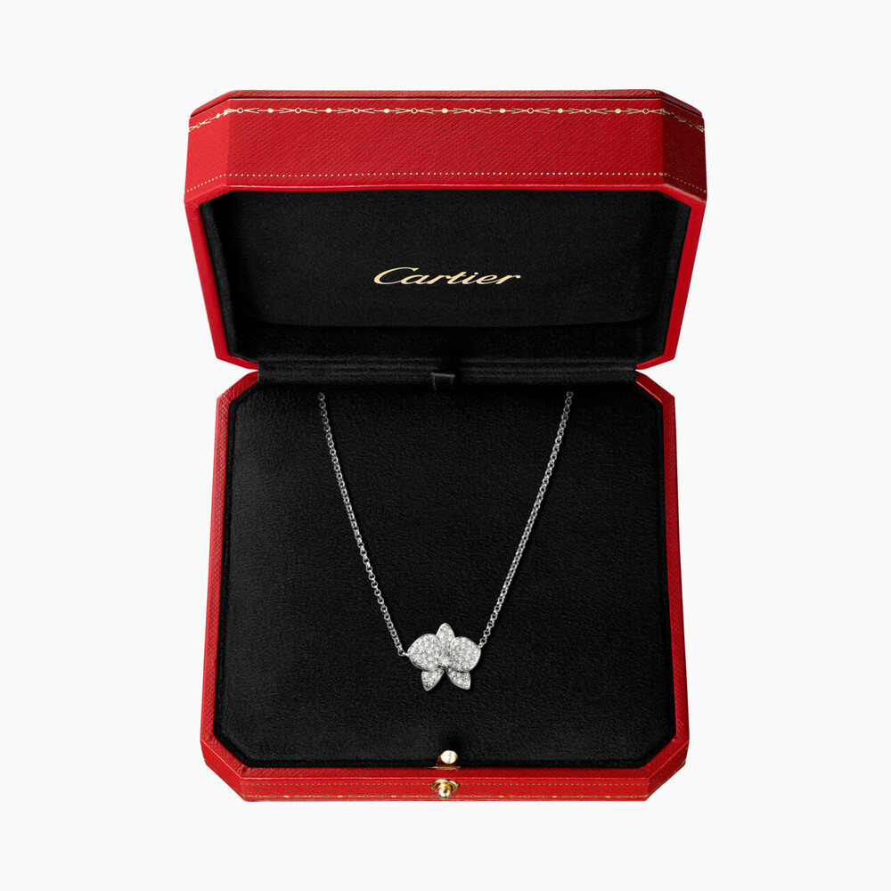 Колье Caresse d'Orchidées par Cartier
