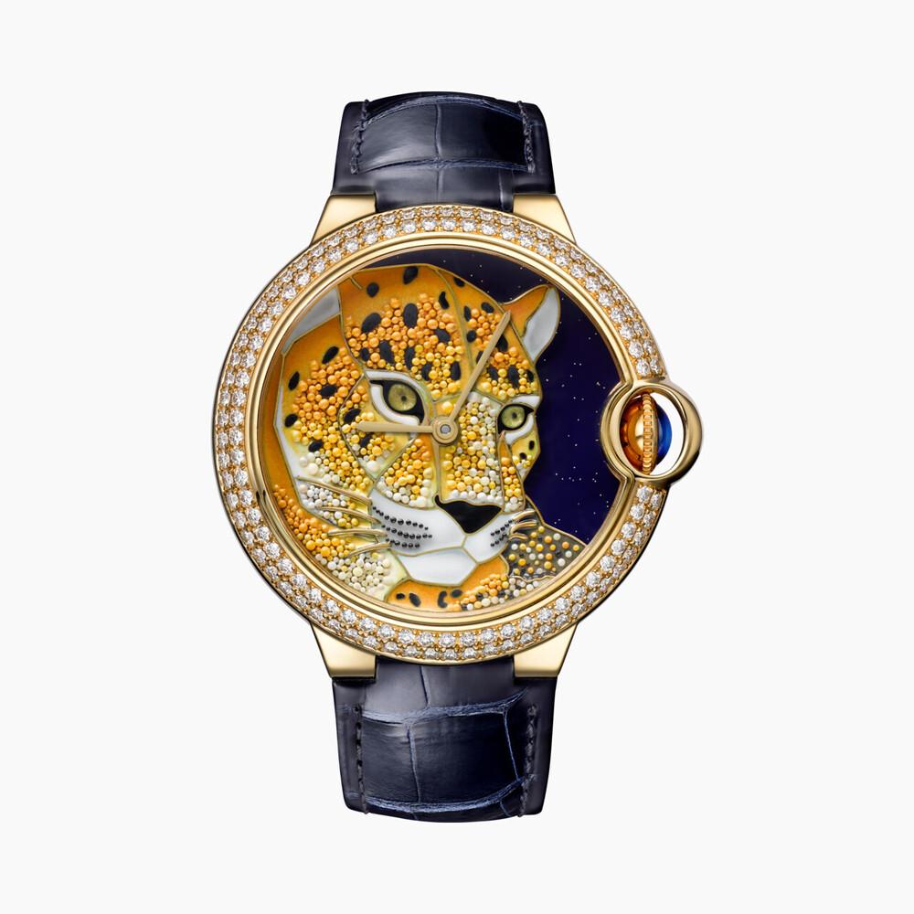 Часы Cartier d'Art Ballon Bleu de Cartier