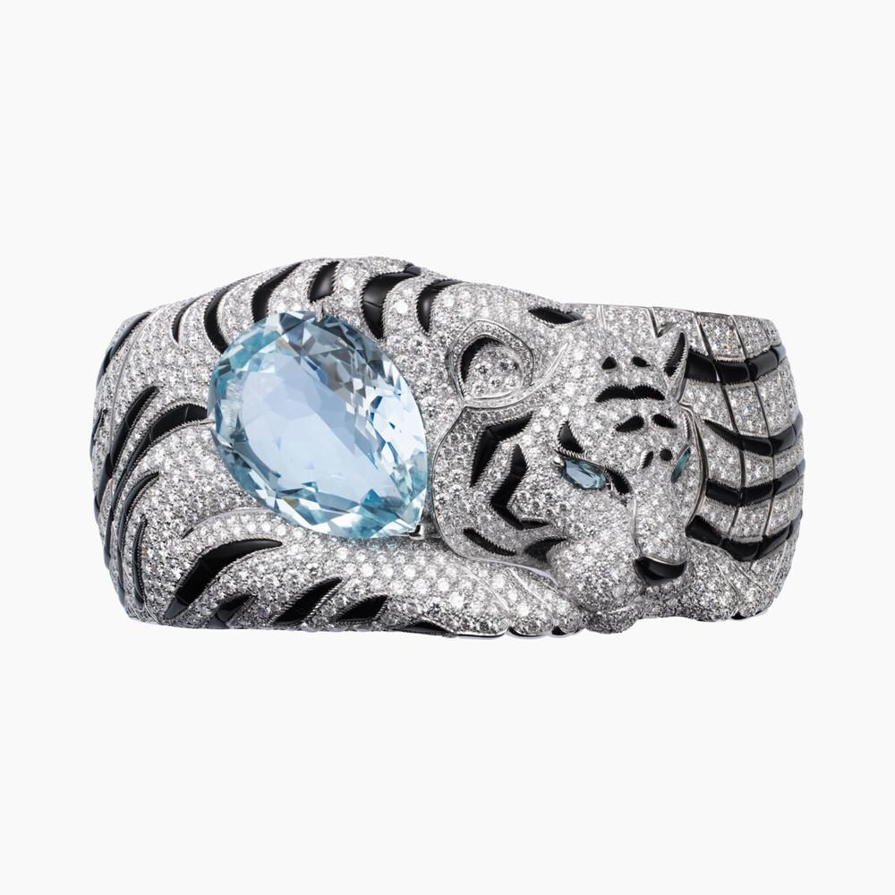 Браслет Faune et Flore de Cartier категории Высокое ювелирное искусство
