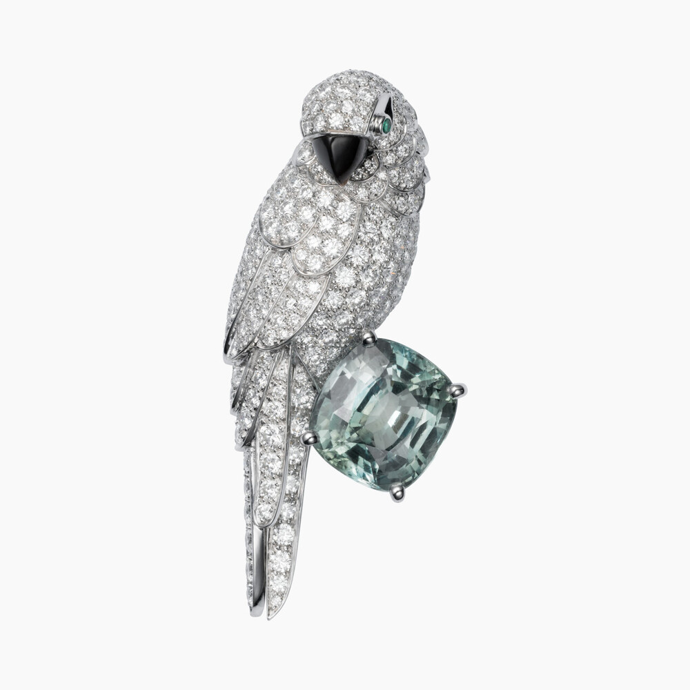 Брошь Faune et Flore de Cartier категории Высокое ювелирное искусство