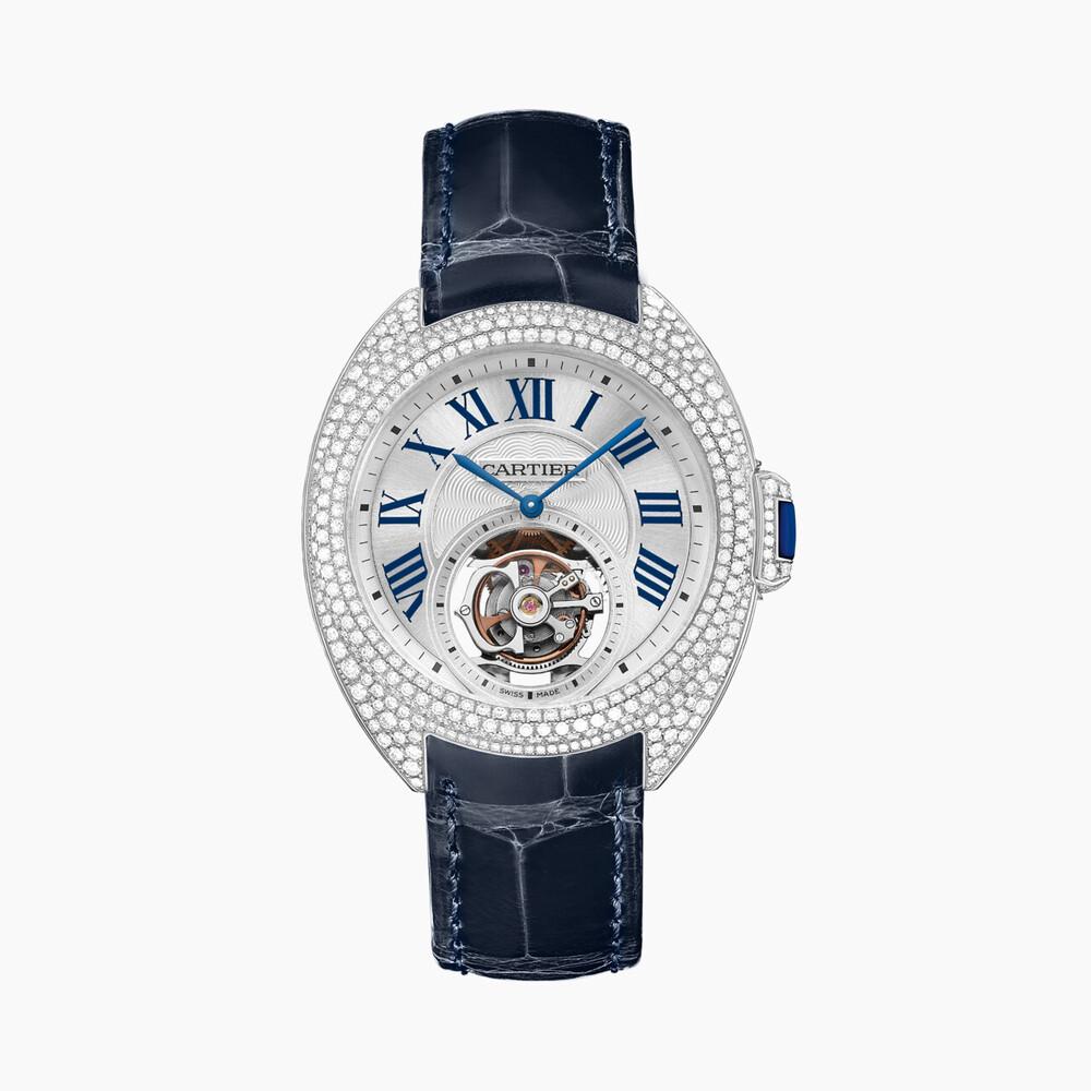 Часы Clé de Cartier с парящим турбийоном, 35 мм