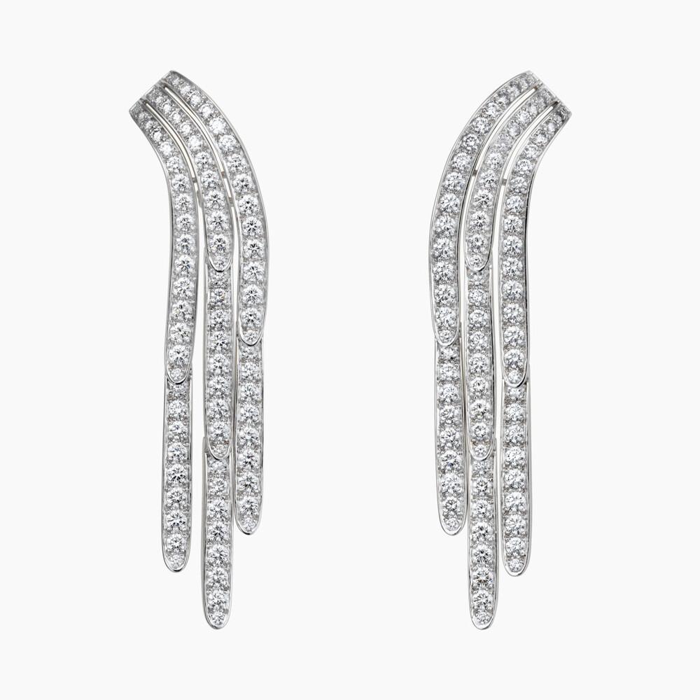 Серьги из коллекции украшений с бриллиантами