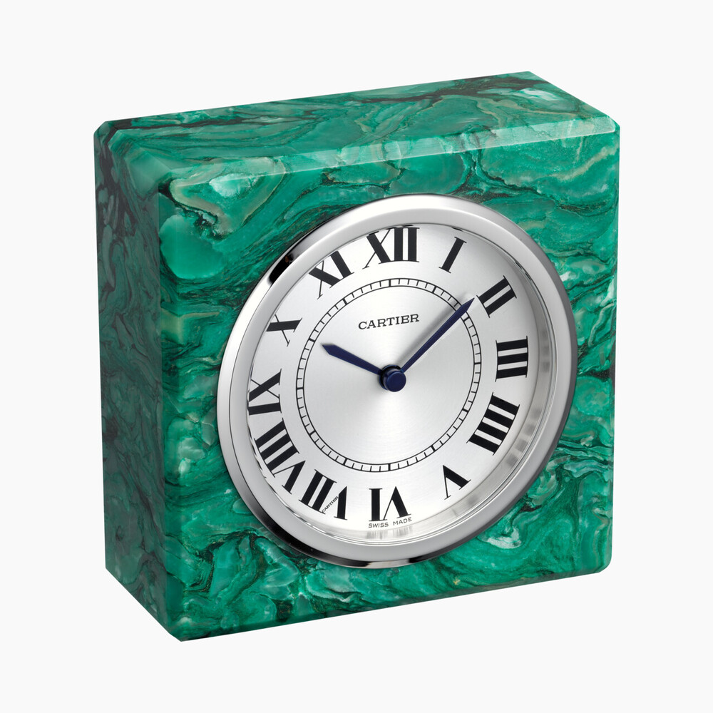 Настольные часы категории Exceptional, серпентин