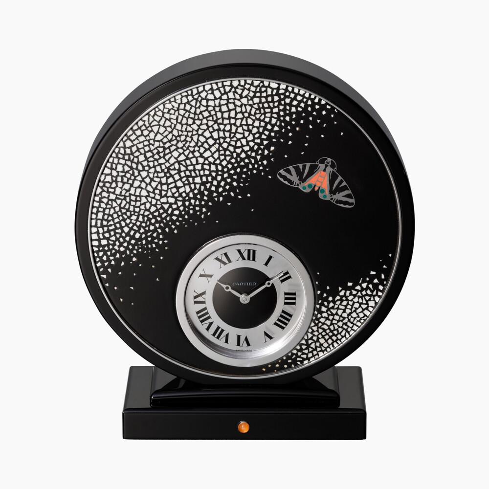Настольные часы категории Exceptional, Художественные техники, мозаика из яичной скорлупы