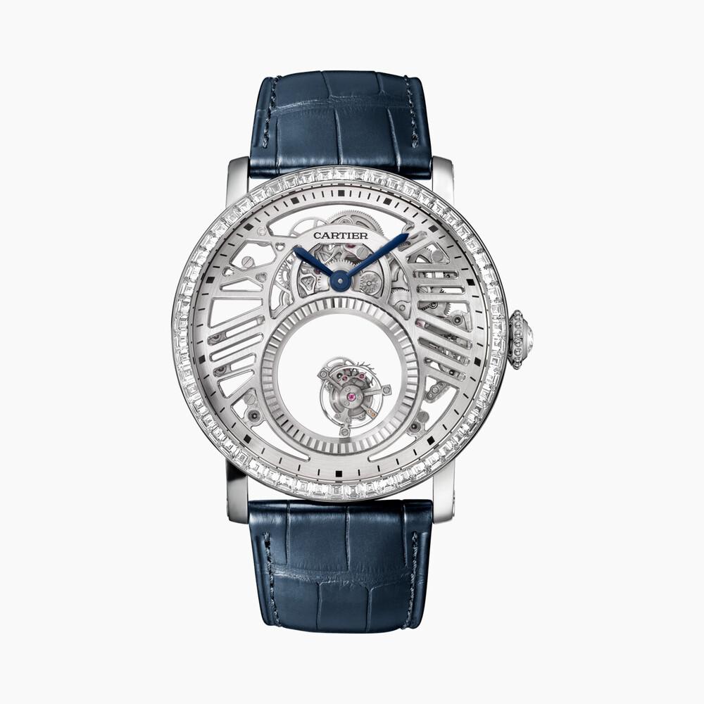Часы категории Высокое часовое искусство, паваж из драгоценных камней