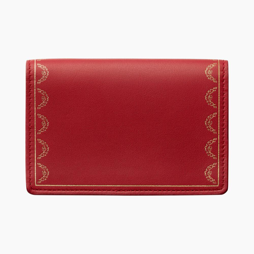 Футляр для кредитных карт с клапаном, Guirlande de Cartier