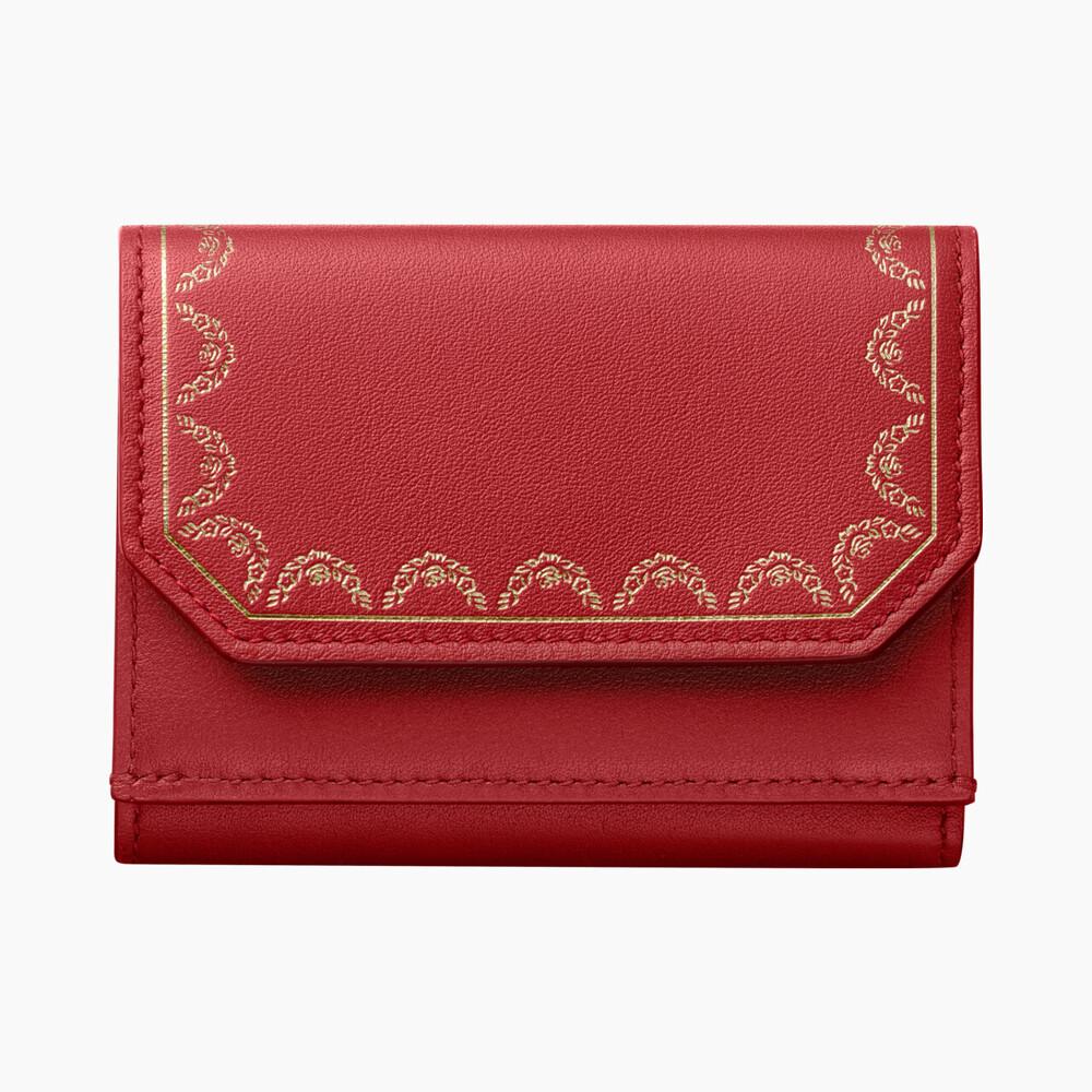 Бумажник тройного сложения, Guirlande de Cartier