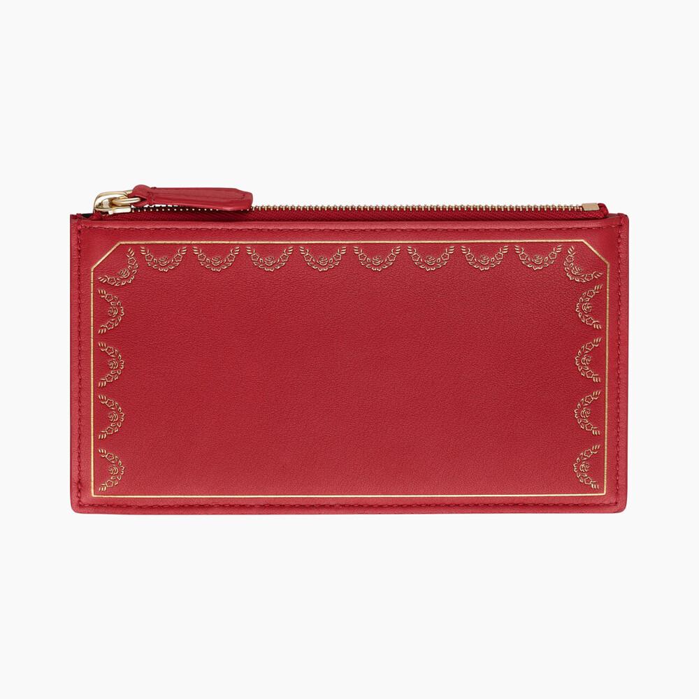Футляр для кредитных карт на молнии, Guirlande de Cartier