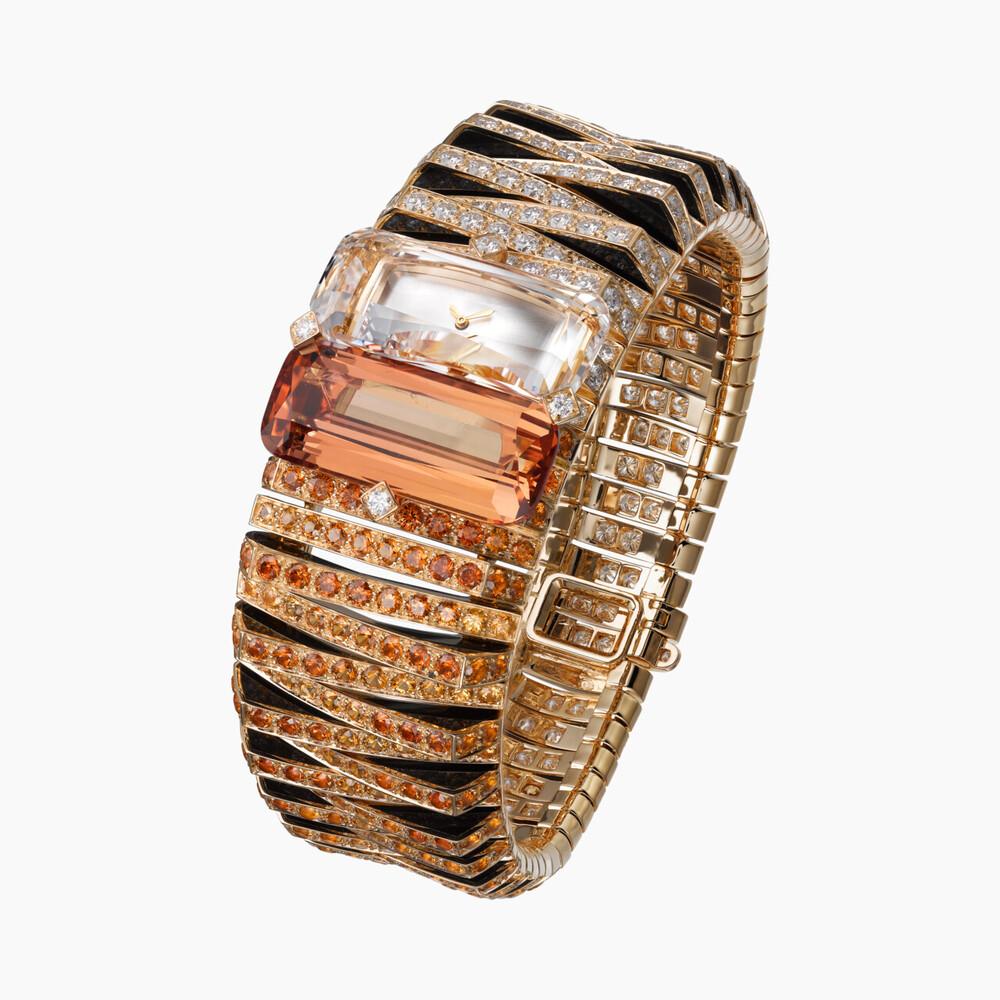 Часы Pelage Tigre категории Высокое ювелирное искусство