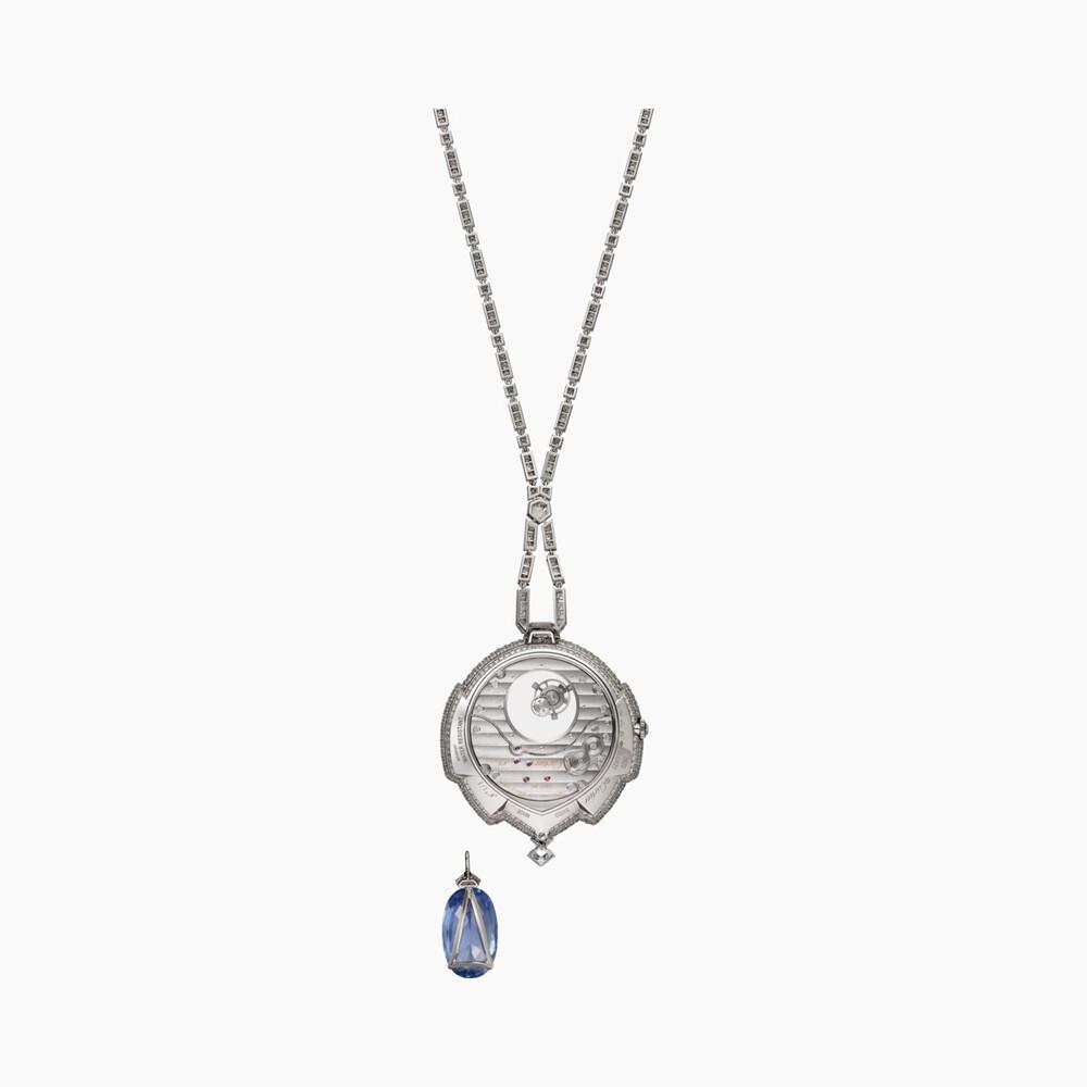 Часы Azuré с «загадочным» турбийоном категории Высокое ювелирное искусство
