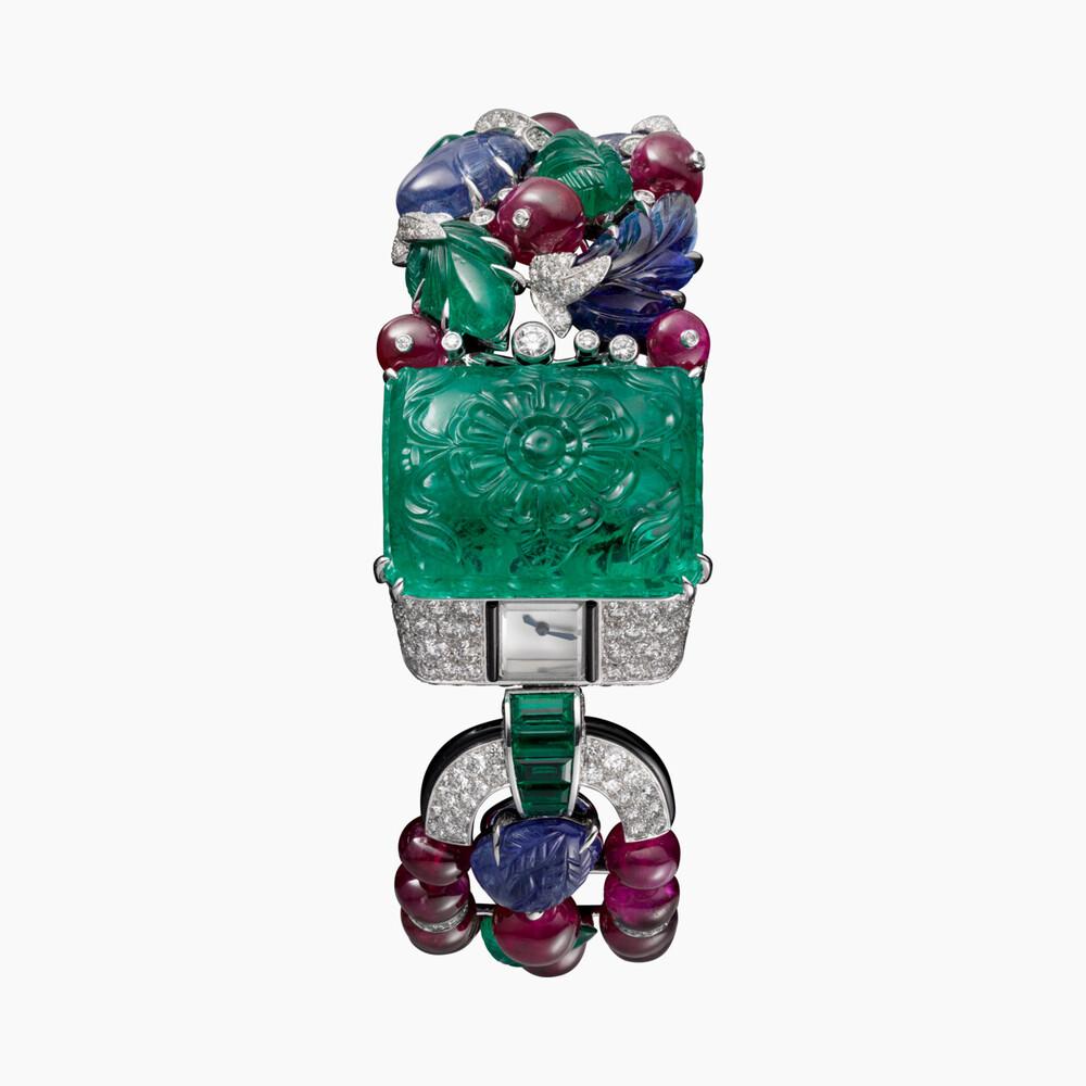 Часы Tutti Frutti Agrafe категории Высокое ювелирное искусство