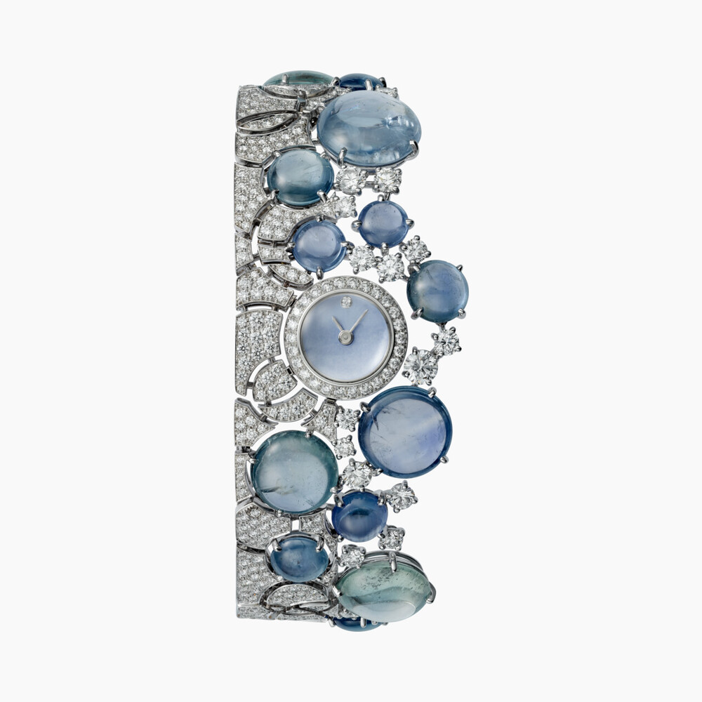 Часы с видимым временем категории Высокое ювелирное искусство