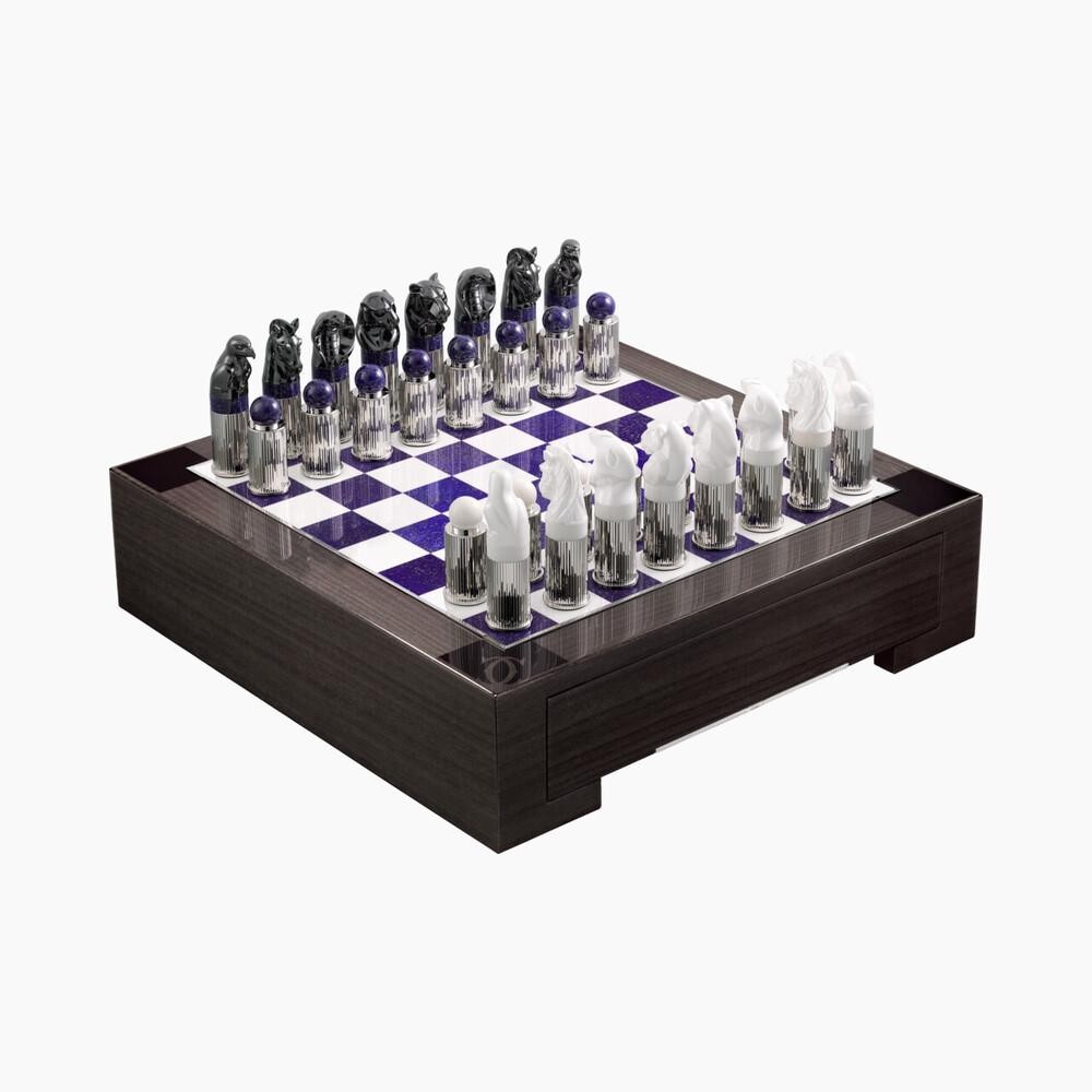 Набор для игры в шахматы Ménagerie de Cartier категории Exceptional, мотив ««драгоценный бестиарий»