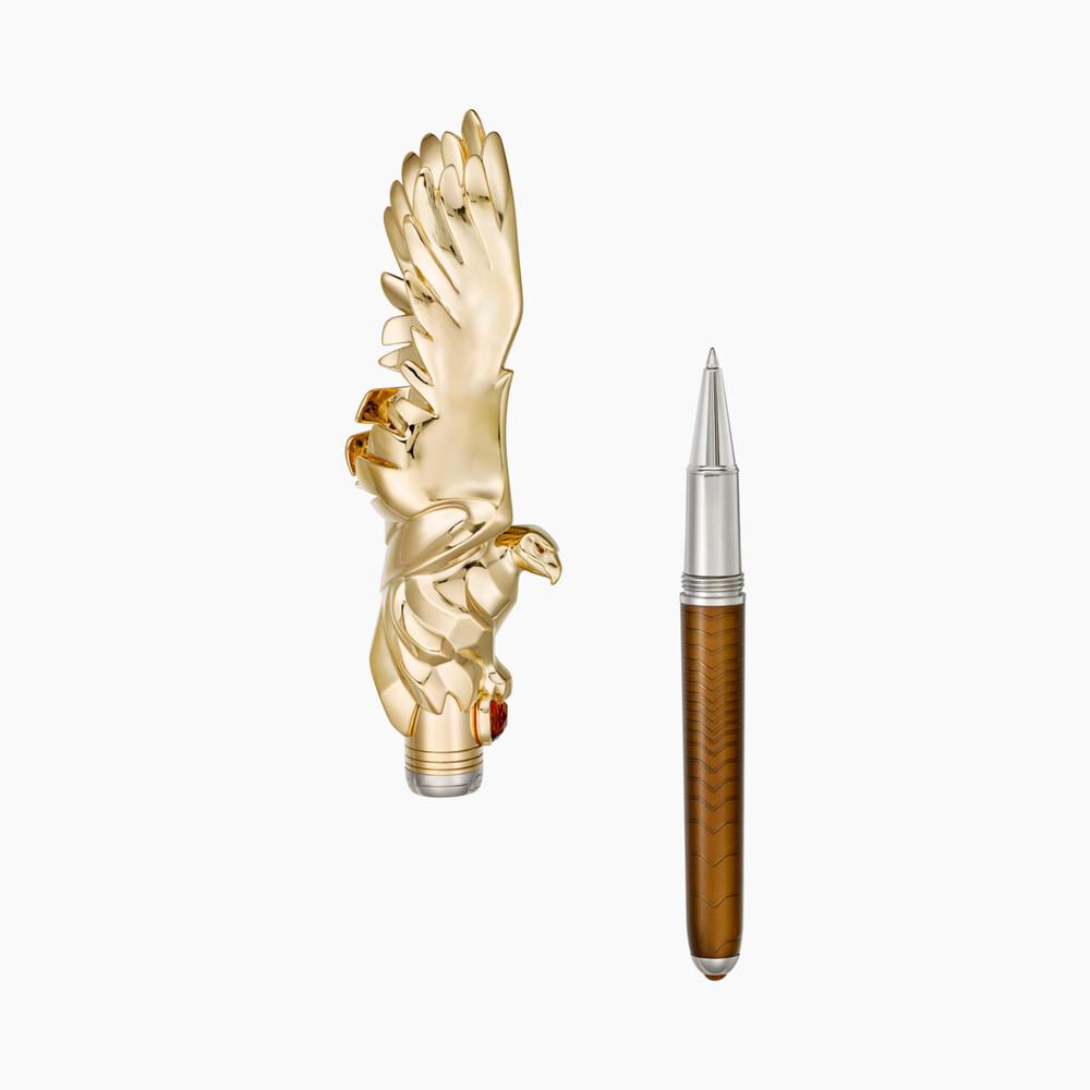 Перьевая ручка и роллер Ménagerie de Cartier категории Exceptional, мотив «орел»