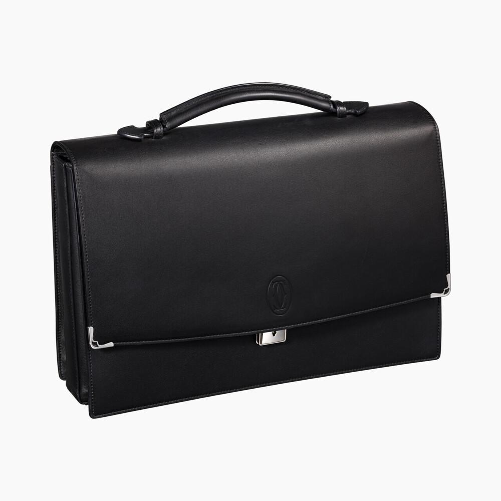 Портфель Must de Cartier с 3 объемными отделениями