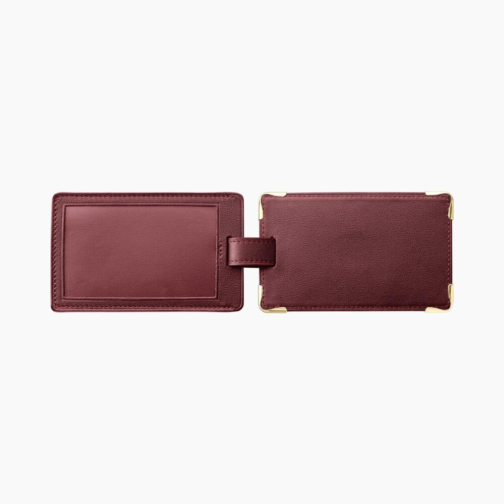 Багажный ярлык Must de Cartier