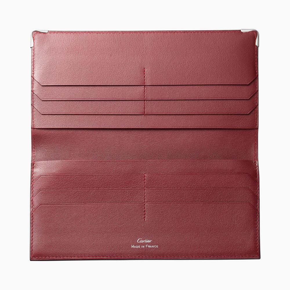 Бумажник стандартного размера Must de Cartier на молнии