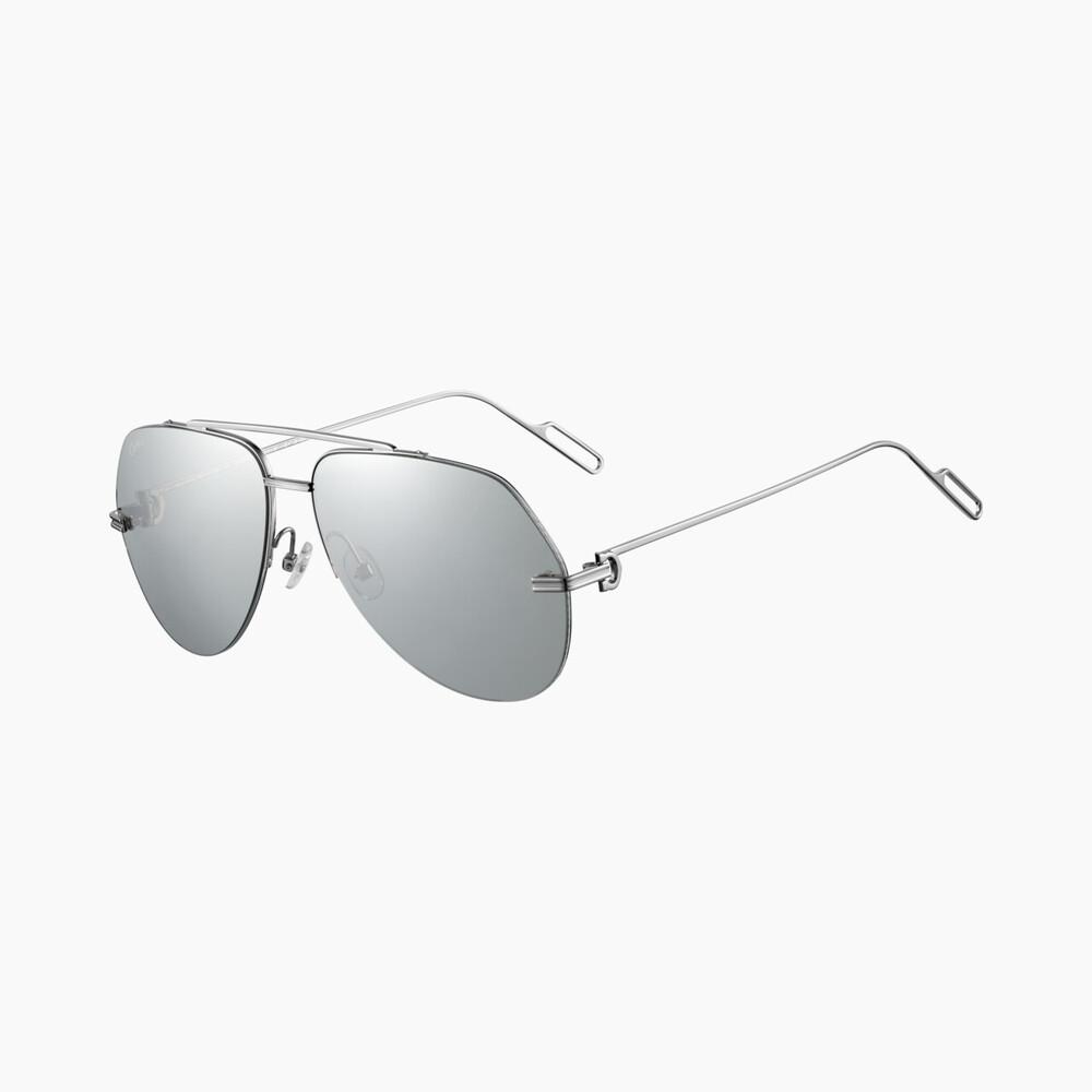 Солнцезащитные очки в драгоценной оправе Première de Cartier