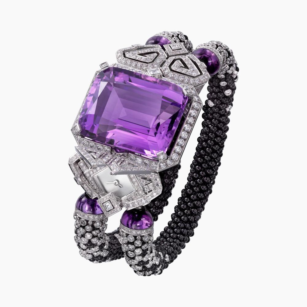 Часы со скрытым циферблатом категории Высокое ювелирное искусство Purple